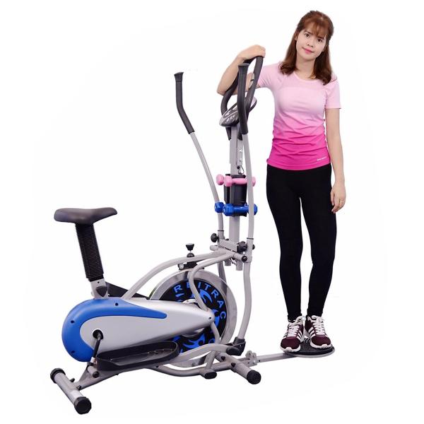 Xe đạp tập Orbitrack Air Bike MO-2085 - Có yên và đĩa xoay eo
