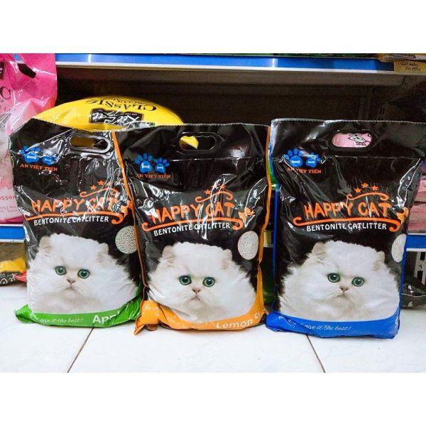 Cát vệ sinh cho mèo Happy Cat 5L (4kg)