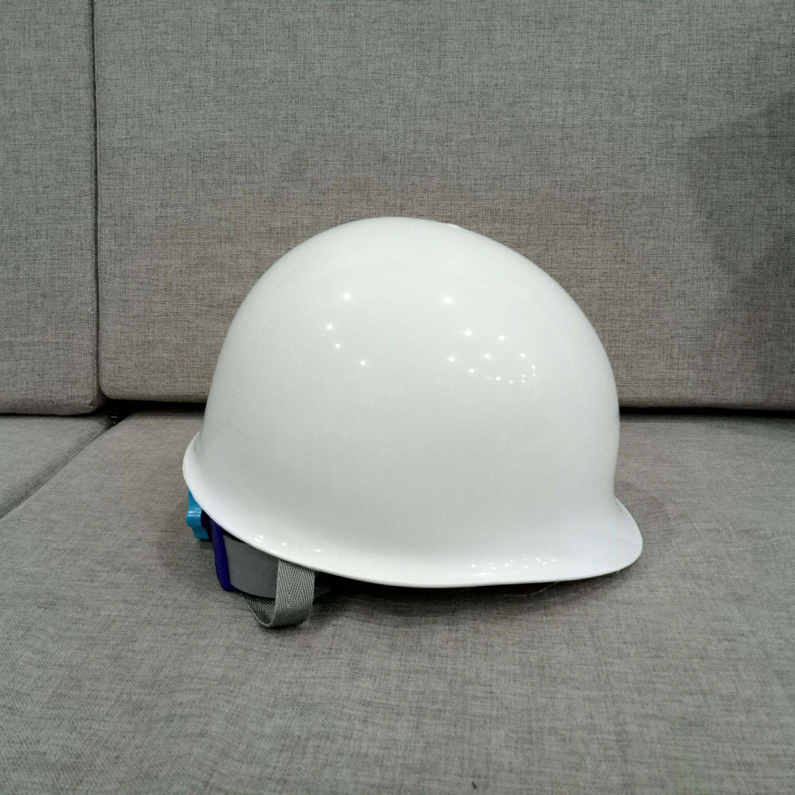 [HCM] HOT SALE Nón bảo hộ kiểu Nhật Bản, chống va đập và khóa vặn điều chính tiện lợi- Màu trắng- Hình thật