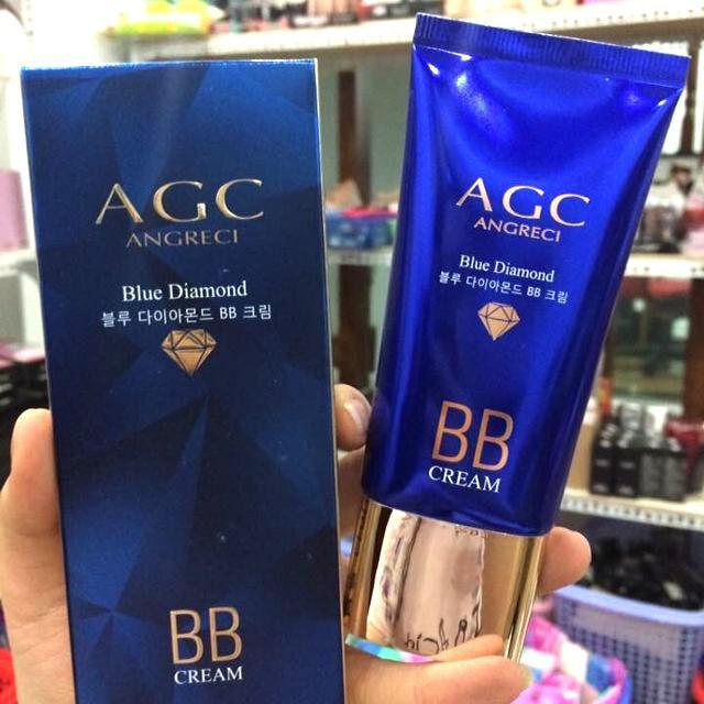 Kem nền AGC Blue Diamond siêu che khuyết điểm Hàn Quốc (xanh) tốt nhất