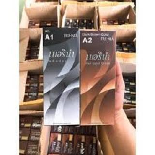 [Có sẵn] [Chính hãng] huốc Nhuộm Tóc Đen, Nâu Berina A1,A2 Thái Lan 60ml thumbnail