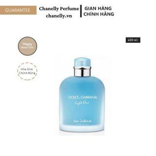 Nước Hoa Cao Cấp FREESHIP Nước Hoa Dolce & Gabbana Light Blue Eau Intense 100ML 24h Thơm Lâu Chính Hãng thumbnail
