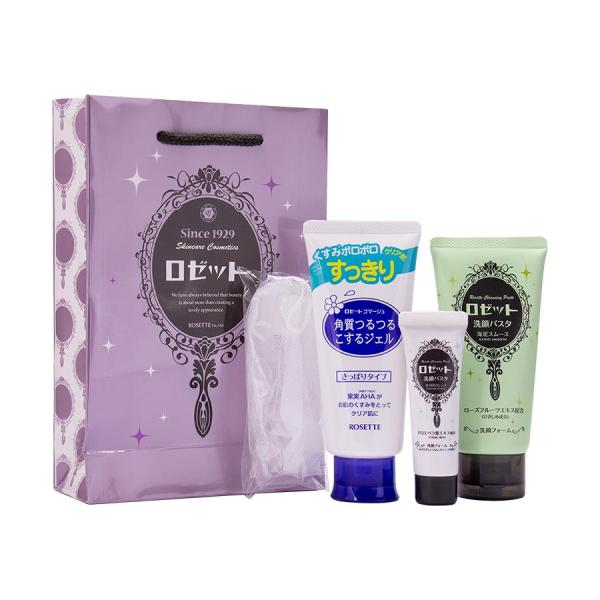 Rosette Face Wash Pasta Sea Clay Smooth Combo Pack tốt nhất