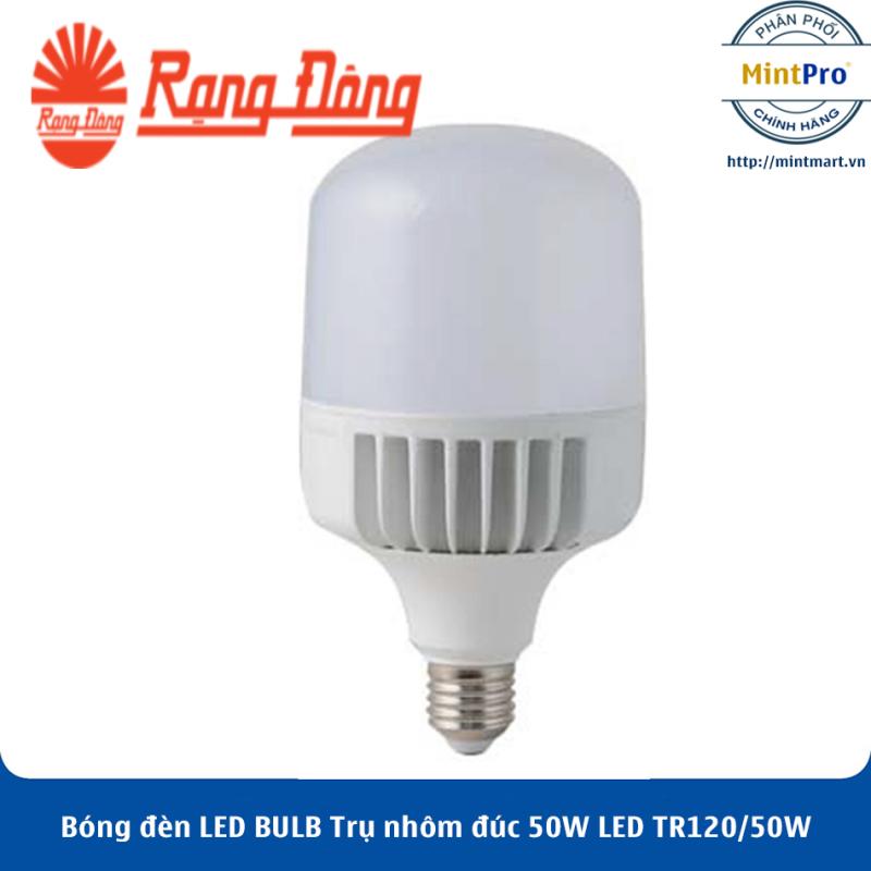 Bóng đèn LED BULB Trụ nhôm đúc 50W LED TR120/50W Rạng Đông - Hàng Chính Hãng