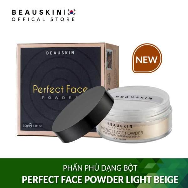 Phấn phủ dạng bột Trắng da Beauskin perfect face powder 30g #21 Light Beige - Hàn Quốc Chính Hãng giá rẻ