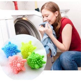Set 10 quả cầu gai dùng cho máy giặt lồng ngang - có tác dụng chư bàn chải quần áo khi giặt - hình 2