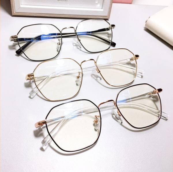 Giá bán Gọng kính cận nam nữ dáng vuông TeeMee TM18205- kính thời trang mắt to gọng kim loại càng dẻo cao cấp siêu bền
