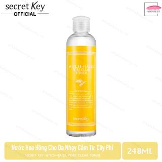 Nước hoa hồng dành cho da nhạy cảm Secret Key Witch-Hazel Pore Clear Toner 248ml thumbnail