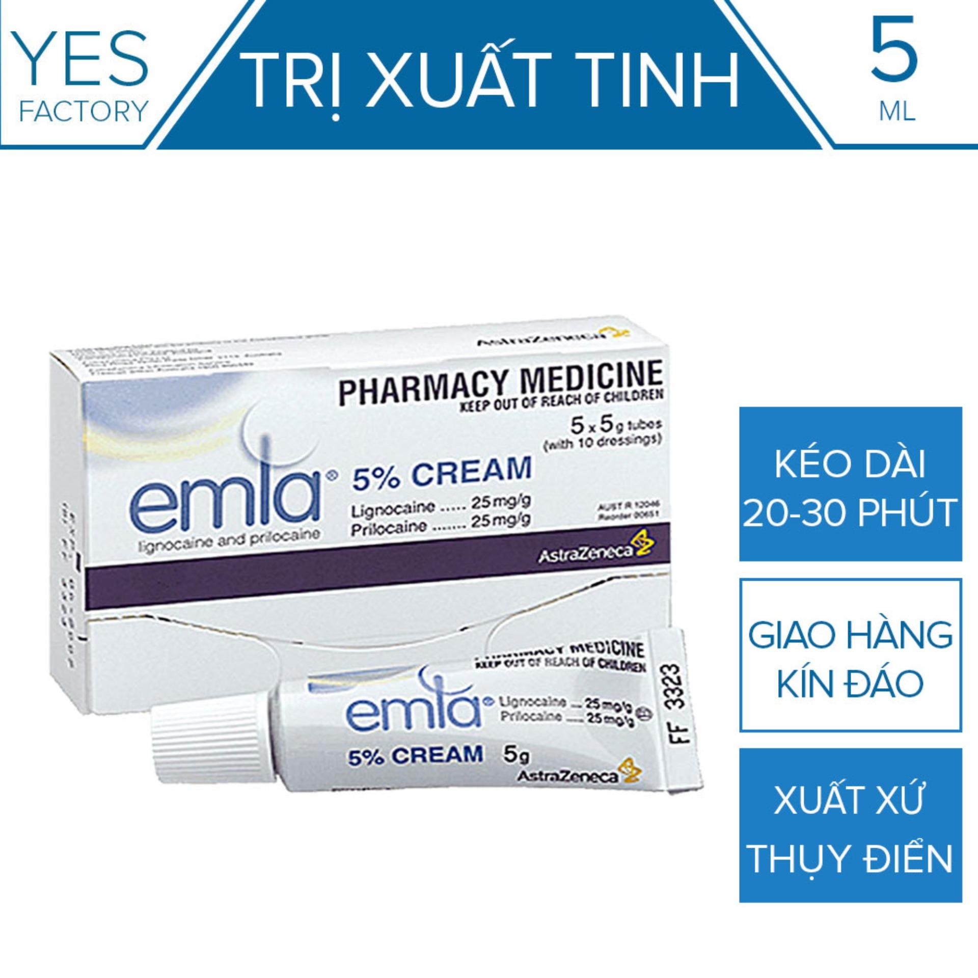 Tinh Chất Chống Xuất Tinh Sớm Emla Cream 5% [ YesShop-TC01 ](CT01) nhập khẩu