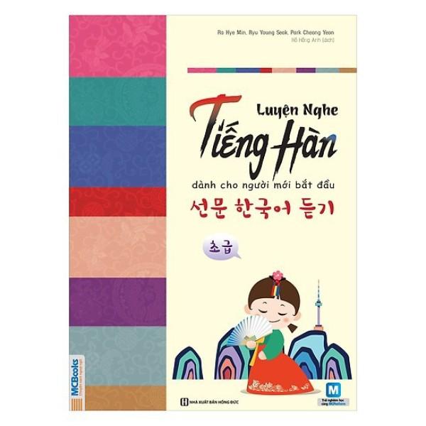 Sách - Luyện Nghe Tiếng Hàn Dành Cho Người Mới Bắt Đầu