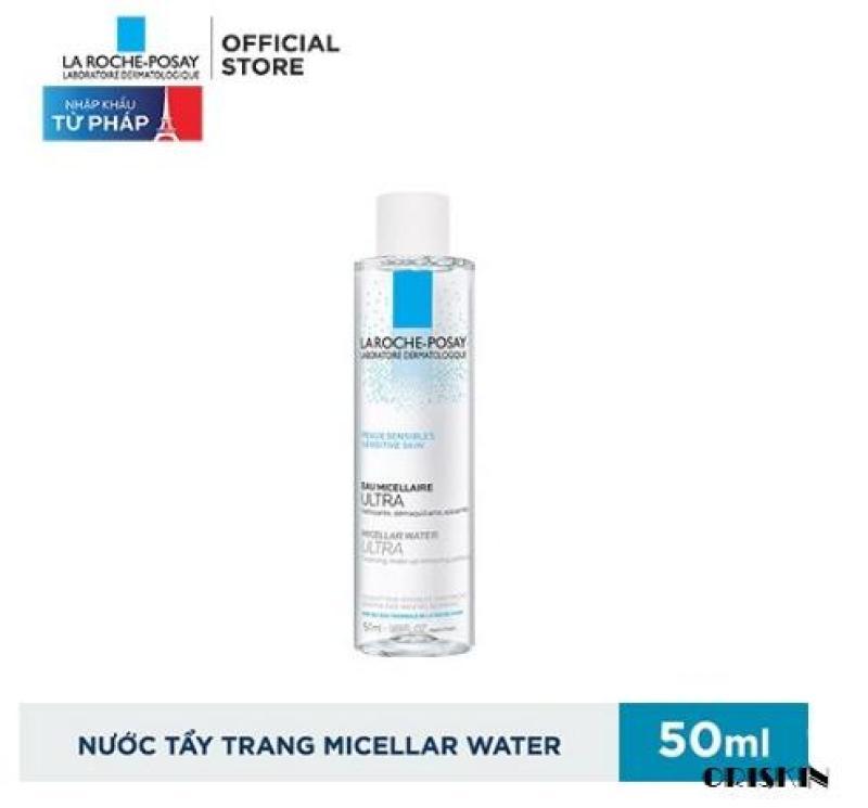 Minisize La Roche Posay- Nước Tẩy Trang Làm Sạch Sâu Cho Da Dầu Nhạy Cảm La Roche-Posay Micellar Water Ultra Oily Skin 50ml