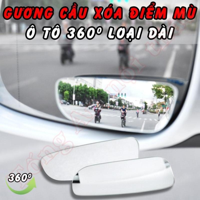 Bộ gương cầu xóa điểm mù ô tô 360 độ loại dài