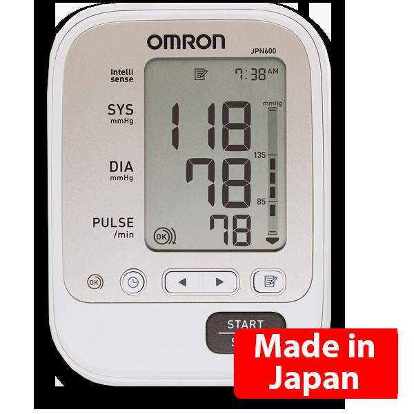 Máy đo huyết áp điện tử Omron JPN600 bảo hảnh chính hãng 5 năm