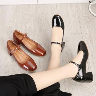 Giày Mary Jane Vintage 5cm[M8805]