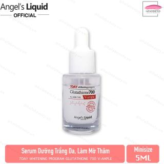 [Mini size 5ml] Huyết Thanh Dưỡng Sáng Da Angel s Liquid 7day Whitening Program Glutathione 700 V-Ample 5ml thumbnail