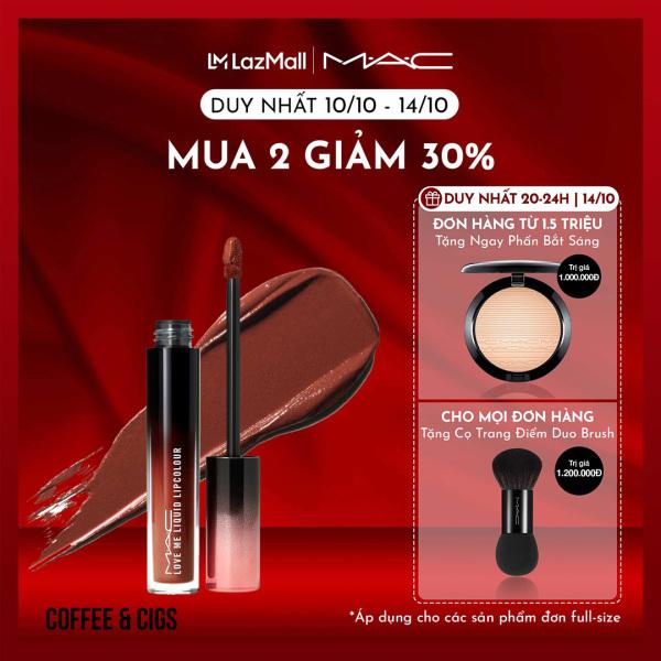 Son kem chứa dưỡng ẩm MAC Love Me Liquid Lipcolour - Liquid Lipstick 3.1ml giá rẻ