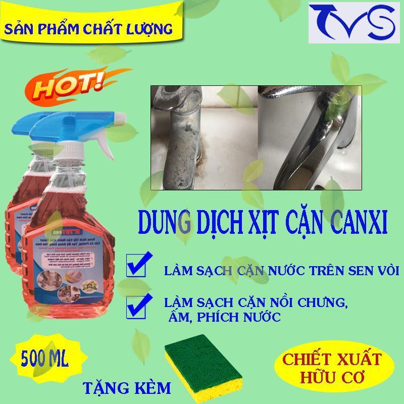 Nước tẩy cặn canxi inox HT01, kim loại, tạo độ sáng cho inox (bình xịt tẩy canxi trên inox)