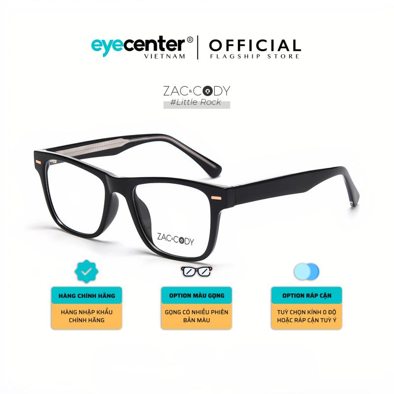 Giá bán Gọng kính cận nam nữ chính hãng ZAC & CODY Little Rock lõi thép chống gãy nhiều màu nhập khẩu độc quyền by Eye Center Vietnam