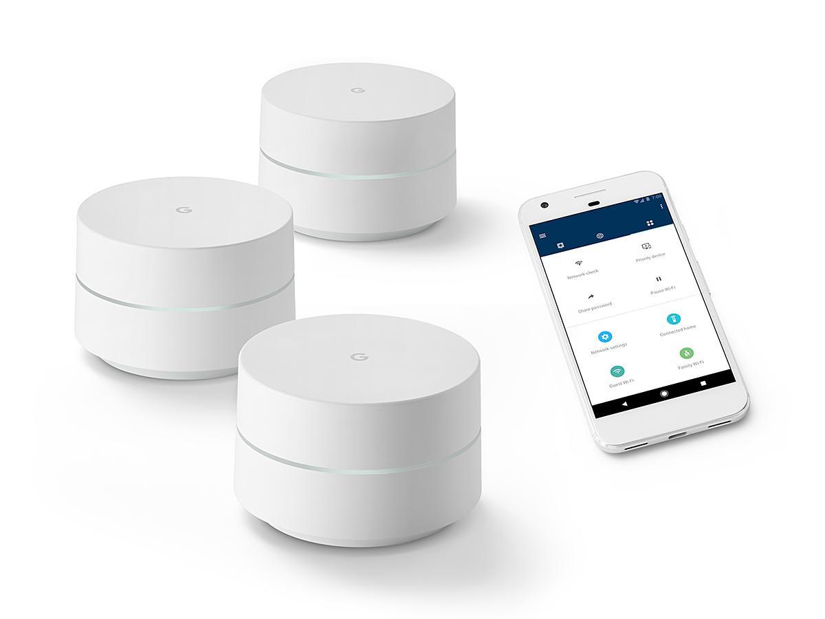 Giá Bộ Phát Wifi ( Google 3 Hub ) Đồng Bộ 1 Mạng Wifi Cho Diện Tích 420M2