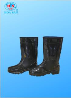 Ủng nhựa đen Hoa San đế cứng size 38-43, ỦNG LAO ĐỘNG, ỦNG BẢO HỘ LAO ĐỘNG HOA SAN LOẠI ĐẸP thumbnail