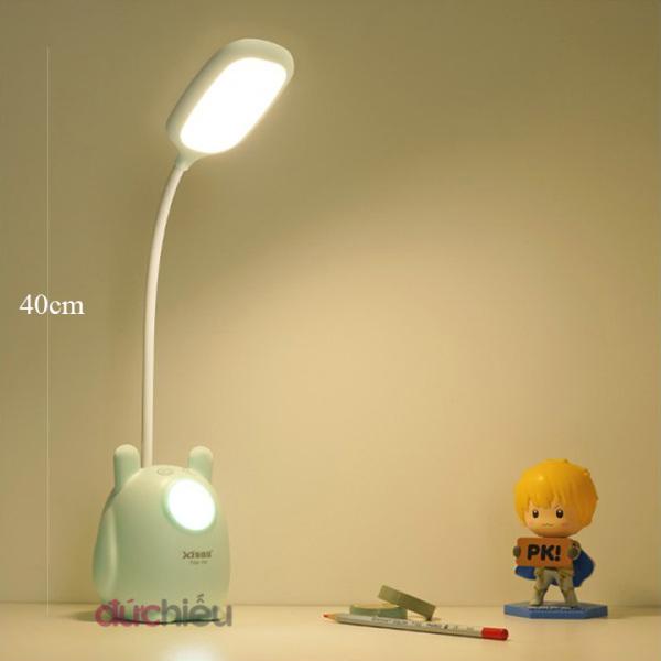 [ Hàng chất lượng - BH 06 tháng ] Đèn học để bàn tích điện cảm ứng 3 chế độ ánh sáng vàng nắng chống cận thị