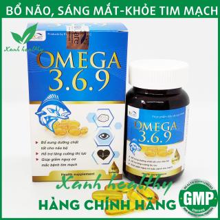 Dầu cá Omega 369 bổ não, sáng mắt, khỏe tim mạch - Hộp 60 viên nang mềm thumbnail