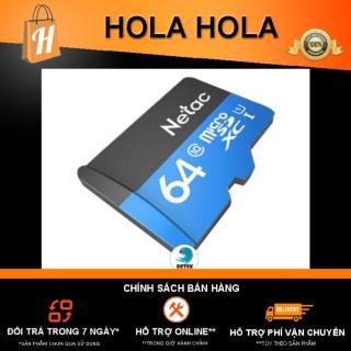 Thẻ nhớ Netac 64Gb Class 10 chuyên camera điện thoại dung lượng thật GIAO MẪU NGẪU NHIÊN thumbnail