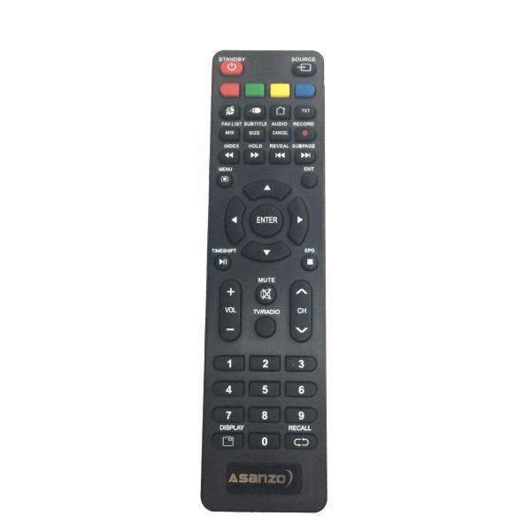 Bảng giá Remote điều khiển tivi ASANZO smart cong ngắn