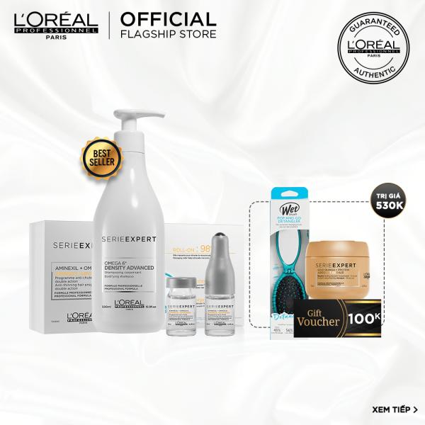 [Tặng Voucher 100k] Liệu trình chăm sóc tóc mỏng và ngừa rụng tóc LOréal Professionnel