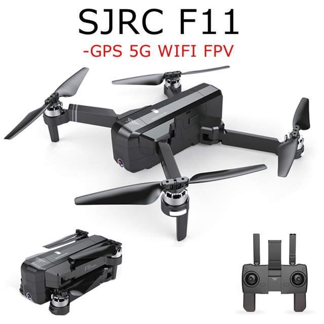 Máy bay Flycam SJRC F11. Động cơ không chổi than. Camera 1080p. Bay 25 phút. Khoảng cách bay 1200m FPV 500m ( sjrc z5, bugs 5w, bugs 2w, bugs 2se, bugs 4w ) Nhật Bản