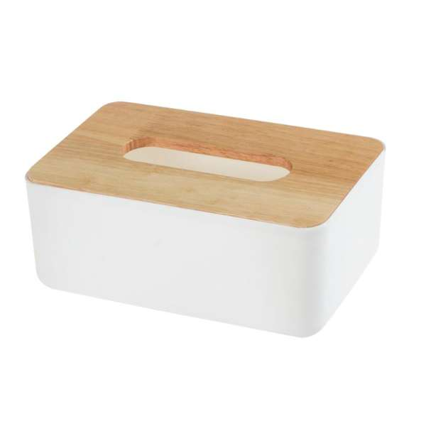 Wooden Tissue Box European Style Home Tissue Container Towel Napkin Tissue Holder Case for Office Home Decoration