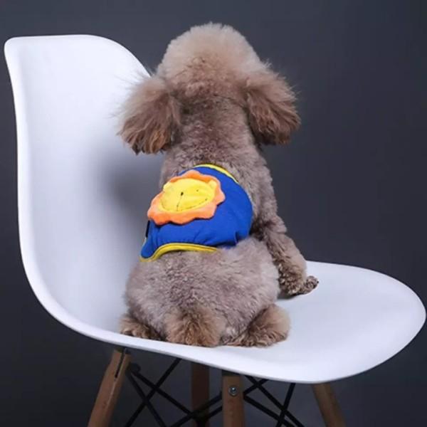 Tã Quần Sinh Lý Chó Đực Đa Màu Xudapet bằng thun cotton chống tràn, giúp hạn chế cho những chú chó đực đi tè ra ngoài - SP000544