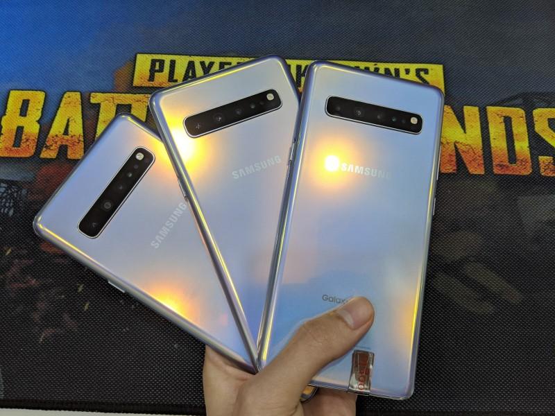 Điện thoại Samsung Galaxy S10 5G Bản Mỹ 256GB | Chip Snapdragon 855 siêu khủng, Bảo mật vân tay trên màn hình | Mua hàng chất tại Playmobile