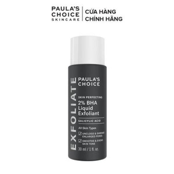 Dung Dịch Tẩy Da Chết Paula's Choice BHA 2% 30ml Skin Perfecting 2% BHA Liquid