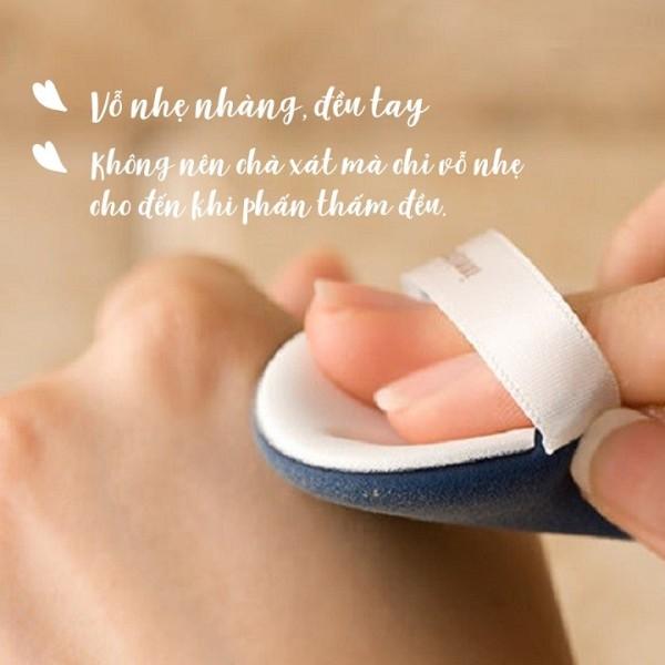 Bông phấn Cushion TheFaceShop Air Puff Second Skin