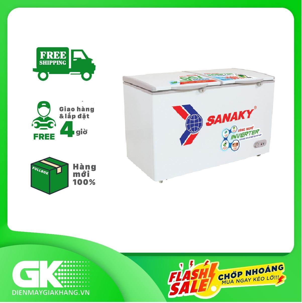 Bảng giá Tủ Đông Sanaky VH-2899A3 (240L), công nghệ Inverter, 1 ngăn  2 cánh -Bảo hành 24 tháng Điện máy Pico