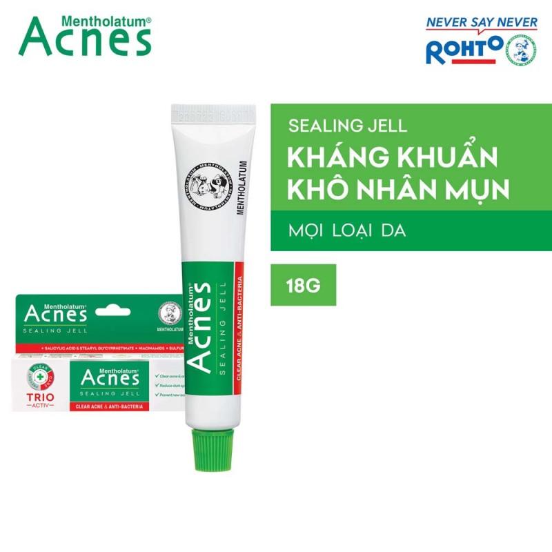 Gel ngừa mụn kháng khuẩn Acnes Sealing Jell 18g giá rẻ