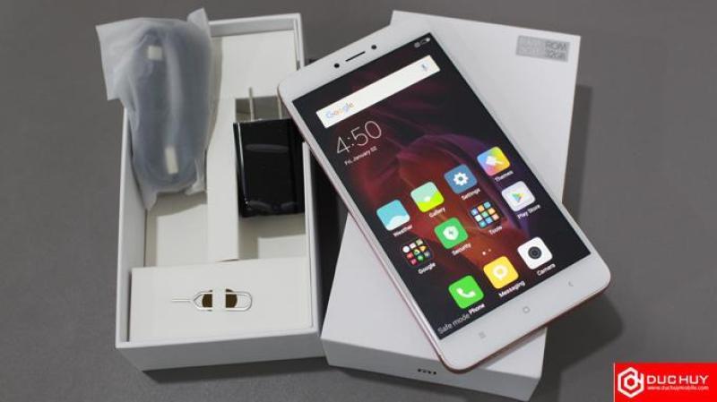 Sale XIAOMI REDMI NOTE 4X TITAN SILVER 2 Sim RAM 3GB_Màn hình IPS LCD , 5.5 ,  Full HD  Android 6.0 (Marshmallow)-Dung lượng pin: 4100 mAh
