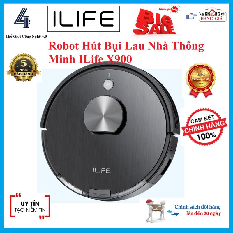 Robot Hút Bụi Lau Nhà Thông Minh ILife X900