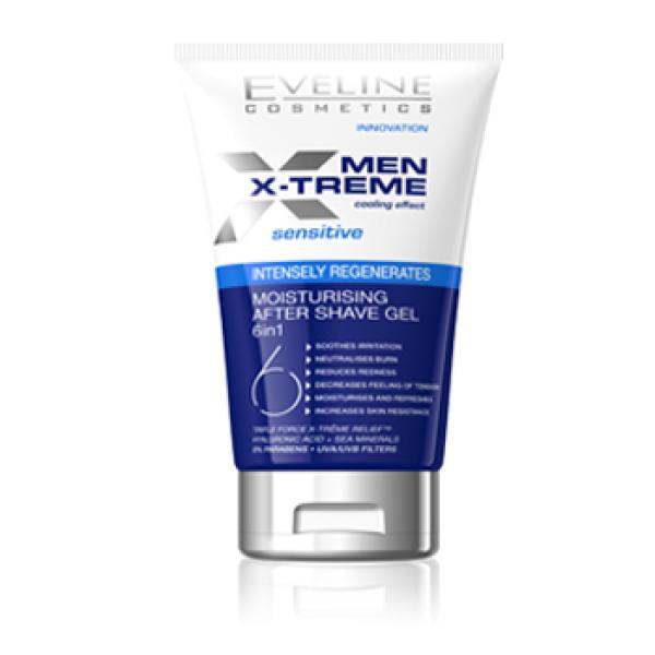 Gel dưỡng ẩm sau cạo râu 6 trong 1 Eveline Men X–Treme giá rẻ