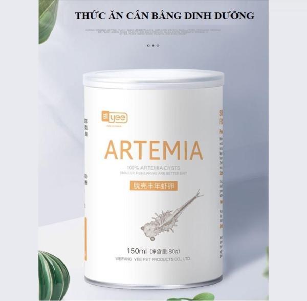 Artemia sấy khô lon 150ml (80g)