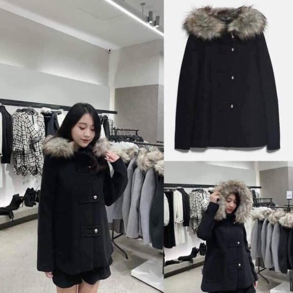 Áo khoác dạ Zara 2019