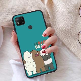Ốp lưng Xiaomi Redmi 9C viền dẻo TPU BST Chúng ta là Gấu thumbnail