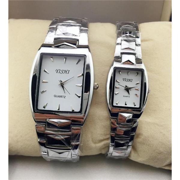 Nơi bán Đồng hồ thời trang nam nữ YiShi Mẫu mới mặt chữ nhật siêu đẹp MS055