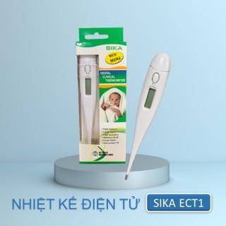 Nhiệt kế điện tử Sika ECT1 có cảnh báo sốt cao sau khi đo, an toàn tiện lợi nhanh chóng thumbnail