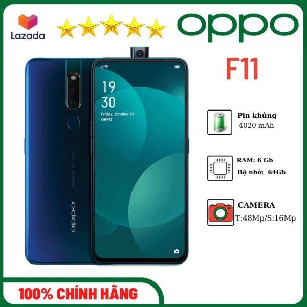 Điện thoại di động oppo F11 (6Gb/64Gb)-Camera khủng 48Mp-chụp ảnh đẹp-màu xanh và tím-Giá rẻ-Chính hãng