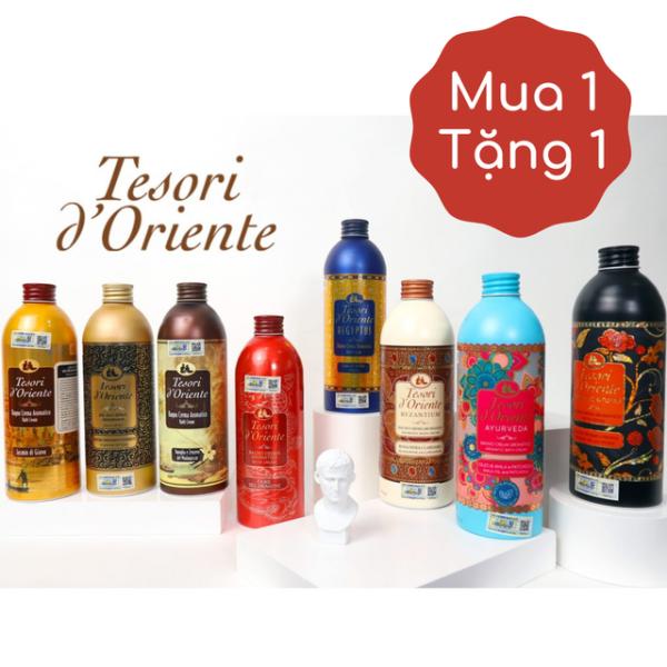 Sữa tắm xích 500ml Tesori D Oriente. Đủ 16 mùi hương (kèm vòi)