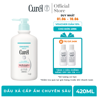 Dầu Xả Cấp Ẩm Chuyên Sâu Curel Intensive Moisture Care Hair Conditioner 420ml thumbnail