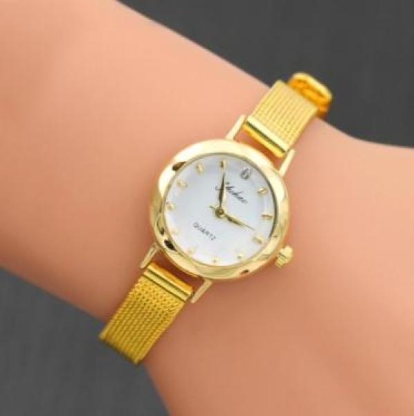 [HCM]Đồng hồ nữ Yuhao mặt kính cổ điển