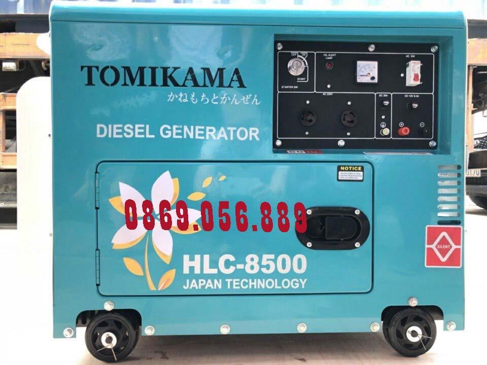Máy Phát Điện Chạy Dầu Chống Ồn 5.0KVA TOMIKAMA 6500